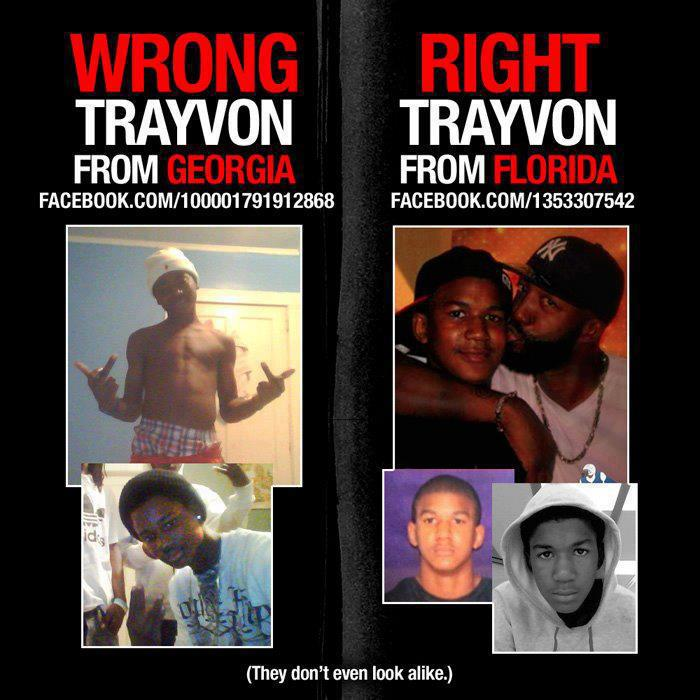 wrong trayvon